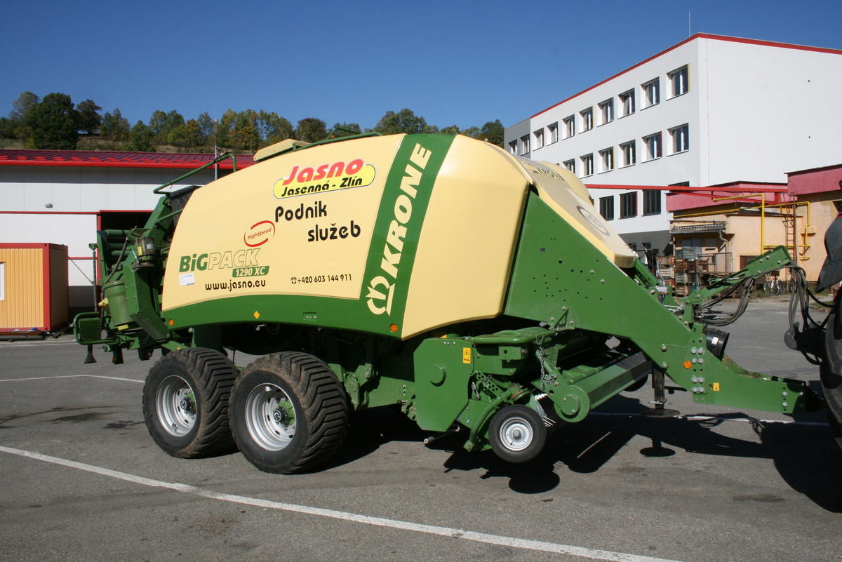 KRONE Big Pack 1290 XC High Speed